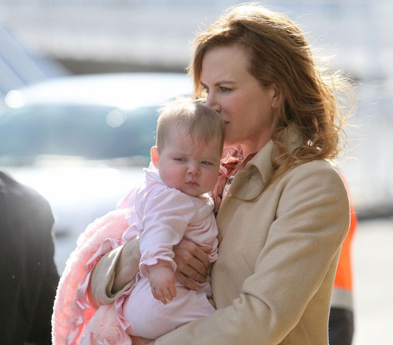 Nicole Kidman harmadik lánya, Faith Margaret 2010. december 28-án született meg, akit egy béranya hozott a világra.