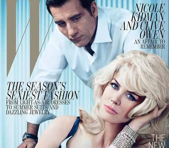 A W Magazin májusi számának címlapján együtt szerepelnek.