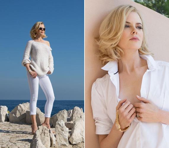 Tavaly a Du Jour magazinnak állt modellt, a képeken pedig legalább tíz évvel fiatalabbnak tűnik a koránál.
