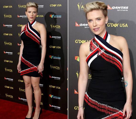 Scarlett Johansson öt hónapja adott életet kislányának, de vékonyabb, mint valaha.