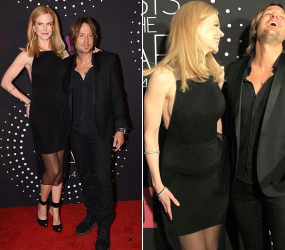 Nicole Kidman igen merész hátmegoldású ruhát választott az eseményre, mely alá nem illett a melltartó.