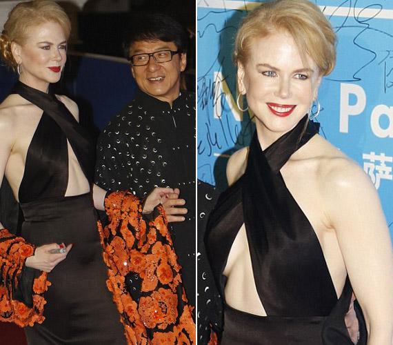 """A """"kínai Oscar-díjon"""" kifejezetten merész volt selyem ruhájában."""