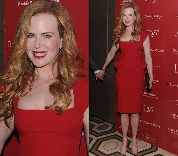 A Kidman védjegyévé vált vörös haj már a múlté, de a felszedett kilók maradtak. Ez jó hír, hiszen a színésznő most formásabb és szexisebb, mint valaha.