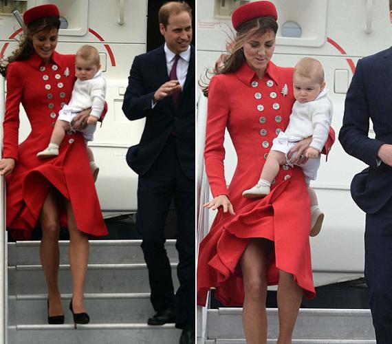 Katalin hercegnő Wellingtonban került kínos helyzetbe.