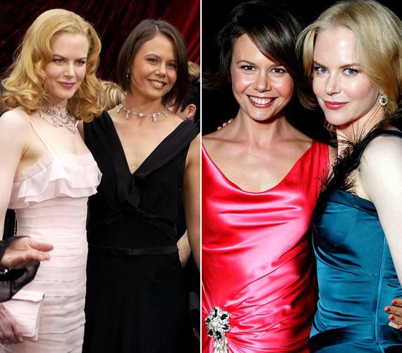 Nicole Kidman 44 éves húga, Antonia arcvonásaiban nagyon hasonlít világhírű nővérére. Újságíróként és műsorvezetőként dolgozik.