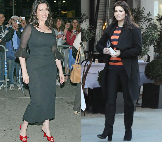 Nigella Lawson stílusa és alakja is sokat változott: a sztárséf az elmúlt hetek során 20 kilót dobott le.