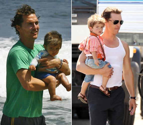 Matthew McConaughey és Camilla Alves immár harmadik közös gyermeküket várják. A legidősebb kisfiú a tündéri Levi 2008. júliusában született.
