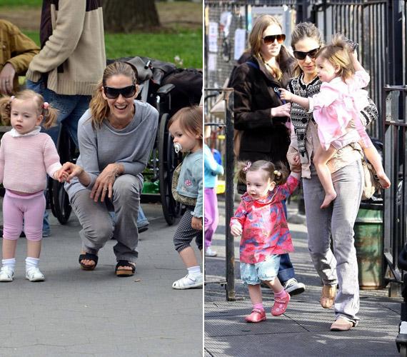 Sarah Jessica Parker és Matthew Broderick cuki ikergyermekeit, Mariont és Tabithát béranya hozta világra még 2009. júniusában.