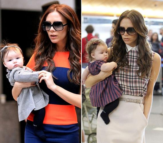 Victoria és David Beckham már négy gyermek szülei, a legkisebbik családtag, az imádnivaló Harper idén júliusban tölti be a legelső életévét.