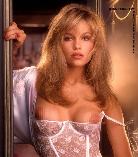 Pamela Anderson  Pamela Anderson 1989 októberében került először a Playboy címlapjára. Ezt követően 1990 februárjában lett a hónap nyuszilánya. A kilencvenes években és az ezredfordulót követően több alkalommal is pucérkodott a magazinban.  Kapcsolódó cikk: Képtelen abbahagyni! Pamela Anderson 43 évesen is átlátszóban szaladgál »