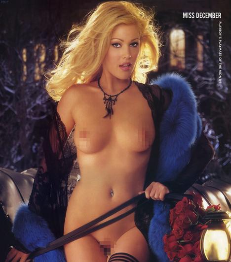 Shanna MoaklerA bombázó színésznő és tévésztár 15 évesen kezdett modellkedni, 1995-ben pedig ő lett Miss USA. A Playboyban 2001 decemberében mutatta meg bájait a pasik legnagyobb örömére.