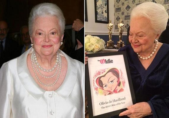 Olivia de Havilland utolsó szerepét 72 évesen, az 1988-as The Woman He Loved című filmben játszotta. A mai napig aktív társadalmi életet él, és százévesen is elképesztő energiái vannak. A fotók idén készültek a születésnapját ünneplő színésznőről.