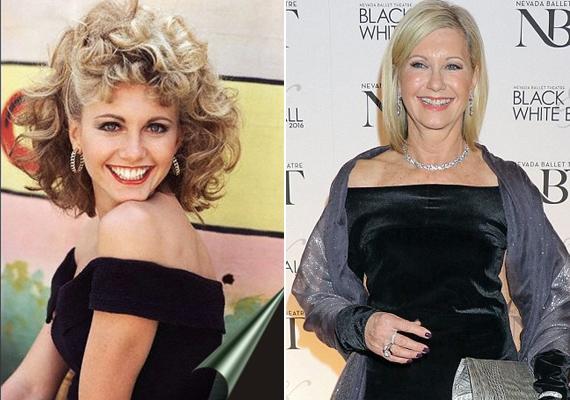 Olivia Newton-John mosolya még mindig olyan bájos, mint amilyen majd' 40 évvel ezelőtt, a film forgatásakor volt. Alig hisszük el, hogy már 67 éves!