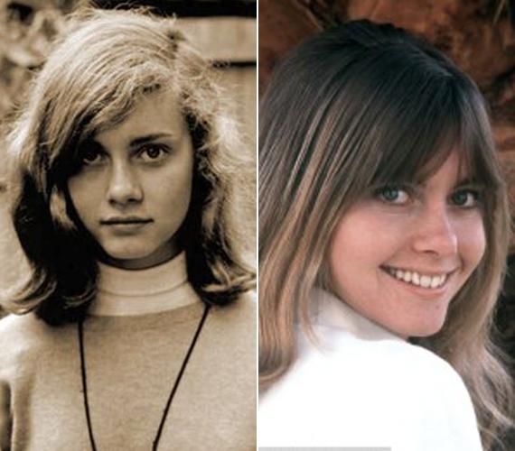 A bal oldali kép Olivia kamaszkorában készült, szinte meg sem lehet ismerni ezzel a gyerekarccal. A jobb oldali fotót 1969-ben készítették az akkor már szárnyait bontogató énekesnőről.