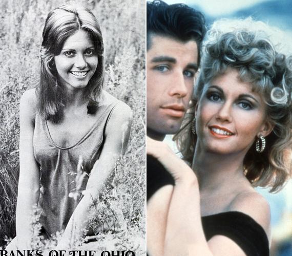 A bal oldalon látható fotó 1971-ben készült a sztár egyik első saját albumának borítójához. A jobb oldalit bizonyára mindenki felismeri, az az 1978-as Grease-ből való.