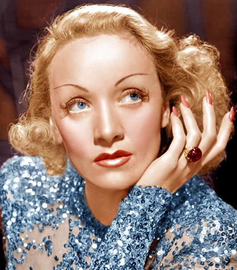 Marlene Dietrich  A hivatalos közlemény szerint szív- és veseelégtelenségben hunyt el a búgó hangú díva, Marlene Dietrich, ám barátnője, aki rátalált, azt mondta, gyógyszerekkel vetett véget az életének.