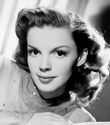 Judy Garland  Hiába volt kora egyik legfelkapottabb színésznője, folyton rettegett, és hamar rászokott a drogokra. 47 évesen gyógyszer-túladagolásban hunyt el Liza Minelli édesanyja.