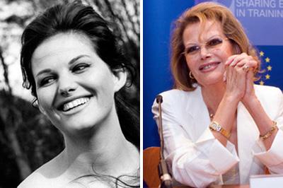 A 70 éves Claudia Cardinale