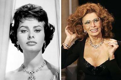 A 74 éves Sophia Loren