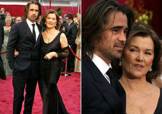A szexi és jóképű Colin Farrel 2008-ban édesanyját, Ritát is meghívta a filmszakma legrangosabb eseményére.
