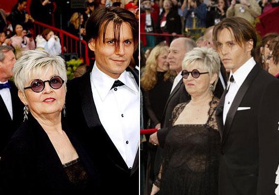 Johnny Depp partnere 2004-ben szeretett édesanyja, Betty. Mivel a sztár édesapját 15 évesen elvesztette, szoros kapcsolat alakult ki közte és anyukája között.
