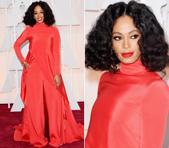 Solange Knowles vörös Christian Siriano ruhája sem nyűgözte le a kritikusokat.