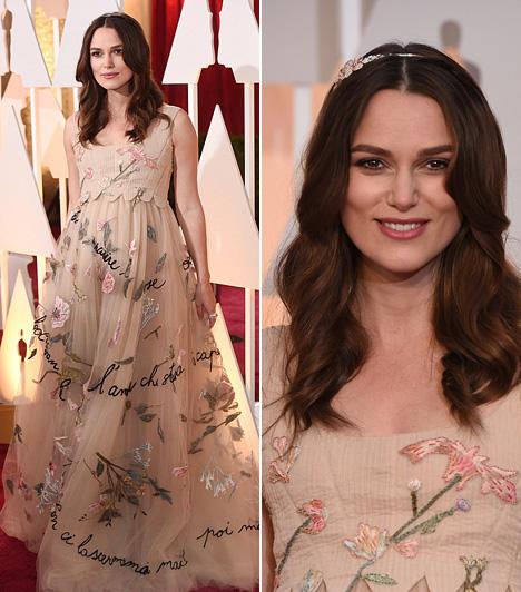 Keira Knightley  A várandós Keira Knightley úgy nézett ki Valentino ruhájában, mint egy mesebeli hercegnő.