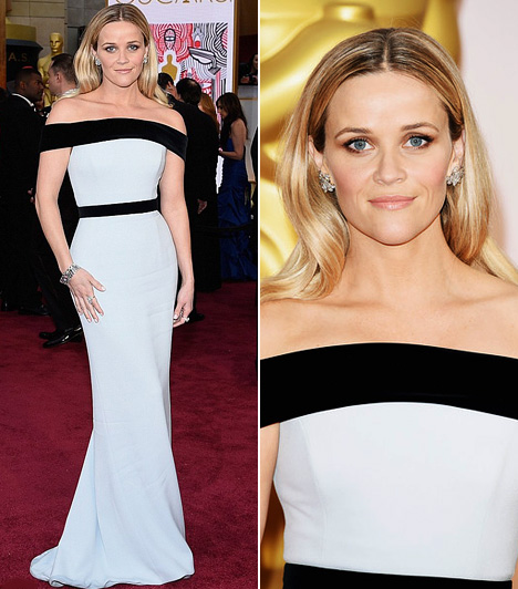 Reese Witherspoon  Reese Witherspoon, akit legjobb színésznőnek jelöltek, egy gyönyörű Tom Ford ruhában ragyogott a vörös szőnyegen.