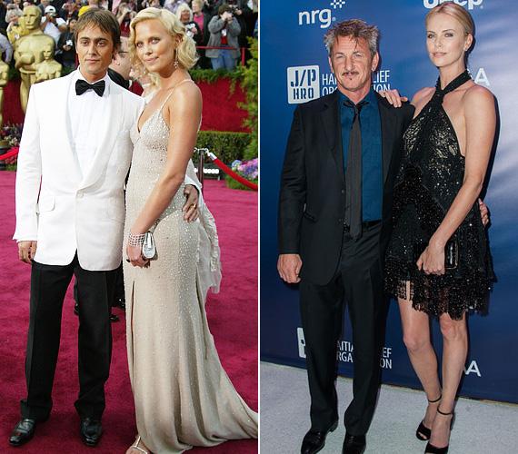A 2004-es Oscar gálán Stuart Townsend ír színészt biztosan sok férfi irigykedve nézte, hogy egy ilyen gyönyörű nővel jár, mint Charlize Theron. Végül kilenc együtt töltött év után, 2010-ben szakítottak. A színésznő 2014-ben kezdett randizgatni Sean Penn-nel, akivel azóta is együtt van.