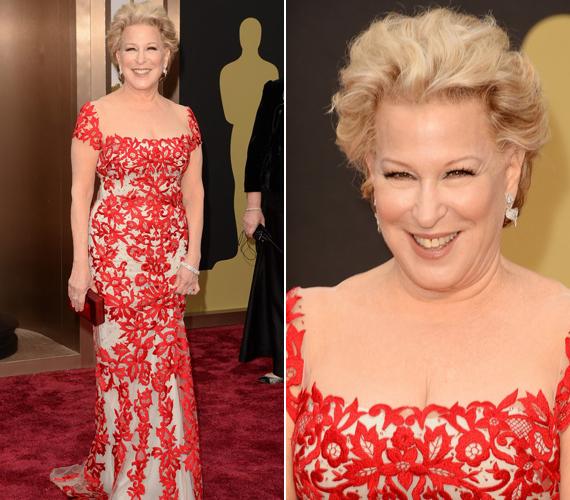 A szintén 68 éves Bette Midler az Oscar-gálán fellépő volt.