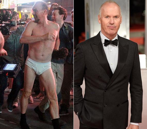 Michael Keaton: Riggan a Birdmanben. Az 1989-es, első Batman-filmmel vált ismertté Michael Keaton, akit az utóbbi években nem igazán láthattunk a mozivásznon, így a 63 éves színésznek a nagy visszatérést jelentette a Birdman főszerepének eljátszása. A műfajilag nehezen behatárolható filmben egy kiöregedett hollywoodi sztárt alakít, aki egy saját maga által írt és rendezett Broadway-darabban akarja megmutatni a világnak, hogy korai volt még őt leírni. Keaton zseniálisan alakítja a szerepet - sokak szerint neki járna az Oscar -, egy kulcsjelenetben egy szál alsónadrágban rohan végig a Times Square-en. Ezt a részt éjjel kettőkor forgatták, és - eltekintve néhány tucat statisztától - valódi járókelők is kerültek a filmbe. Ők pedig tényleg megdöbbentek, amikor meglátták az őrülten rohanó sztárt, majd lázasan fotózni kezdték a telefonjaikkal, derült ki a sztár a Telegraph-nak adott interjújából.