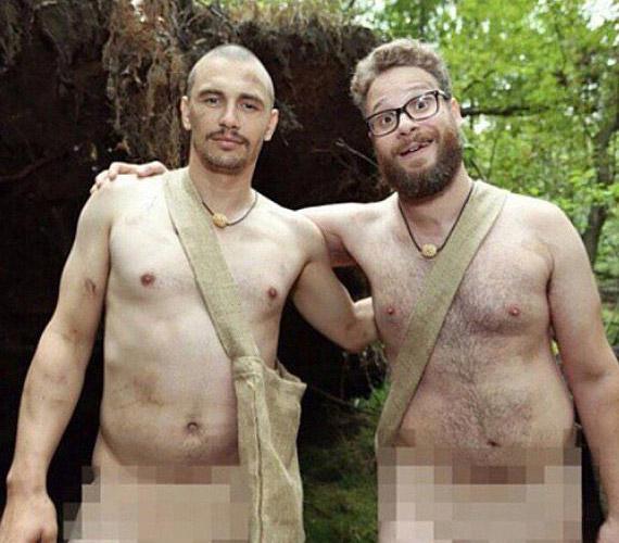James Franco nem is csak egy képpel okozott botrányt, de a legemlékezetesebb egy fotósorozat, melyen barátjával,Seth Rogennel meztelenül szerepel.