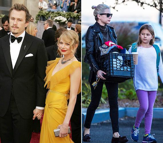 Igazi álompár volt a szolid Michelle Williams és a rosszfiú Heath Ledger, irigyelték is őket sokan, amikor 2006-ban kéz a kézben megjelentek az Oscar-gálán. Ekkor már volt egy kislányuk, Mathilda, aki 2005-ben jött világra. A színész azonban több szabadságra vágyott, így három év után, 2007 szeptemberében szakított barátnőjével, amit Williams saját bevallása szerint nehezen viselt. Alig négy hónappal később Heath Ledger túladagolásban elhunyt, a színésznő azóta sem talált rá az igazira.