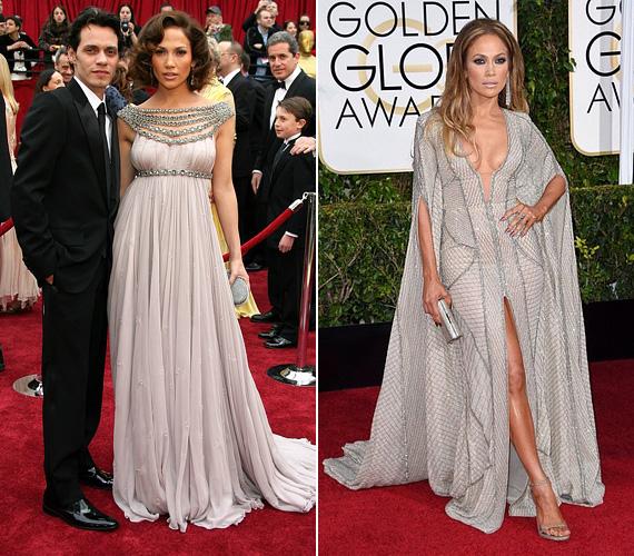 Jennifer Lopez nem sokkal az után jött össze Marc Anthonyval, hogy szakított Ben Afleckkel. Még a megismerkedésük évében, 2004-ben összeházasodtak, ikreik 2008 februárjában születtek meg, de a színésznőről már akkor pletykálták, hogy terhes, amikor 2007 februárjában megjelent az Oscaron ebben a meseszép Marchesa ruhában. Kapcsolatuk mindvégig harmonikusnak tűnt, ezért is döbbentette meg a világot, amikor bejelentették, hogy elválnak. 2012-ben be is adták a papírokat, két évvel később mondták ki hivatalosan a válásukat.