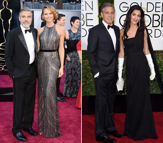 George Clooney sok szép nővel megjelent már az Oscar-gálán, Stacy Keiblerrel több éven keresztül, legutóbb 2013-ban. Az örök agglegénynek titulált sztár aztán tavaly mindenki meglepetésére megnősült, így idén egészen biztosan Amallal együtt lép majd a díjkiosztó vörös szőnyegére.