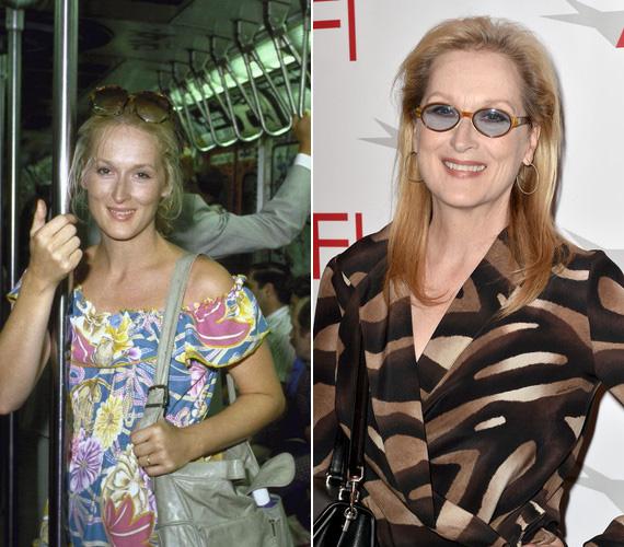 Meryl Streepről még a nyolcvanas években készült a fotó, a New York-i metró elég siralmas állapotban volt akkoriban, ahogy az a háta mögött látszik. A 3 Oscarral már rendelkező színésznő idén kaphat egy negyediket is, a Vadregény című filmben játszott szerepe miatt jelölték a legjobb női mellékszereplők kategóriában.