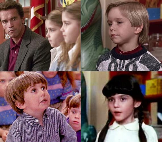 A bájos ikerpár, a Schwarzenegger által megvédeni próbált kisfiú, a nőgyógyász apuka lelkes kiskölyke, valamint a szolid copfos kislány - ma már egyikőjükre sem ismernél rá. Nem hiszed? Lapozd végig a képes összeállítást, és nézd meg, kiből mi lett.