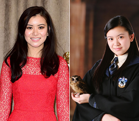 A 27 éves Katie Leung személyesítette meg Cho Changet, Harry Potter első szerelmét. Az egykori gyereksztár a sorozat után művészetet és színészetet tanult az egyetemen.