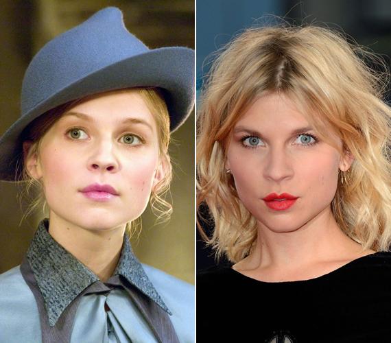 Nehéz elhinni, de az egykori Fleur Delacour, vagyis Clémence Poésy már 32 éves is elmúlt. A Harry Potteren kívül szerepelt a 127 órában és az Erőszakikban. Emma Watsonnal nagyon jó barátnők.