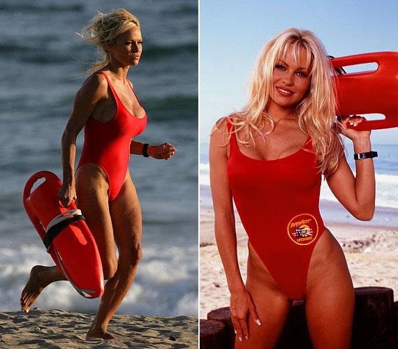 A Baywatch dögös vízimentőjeként ért karrierje csúcsához.