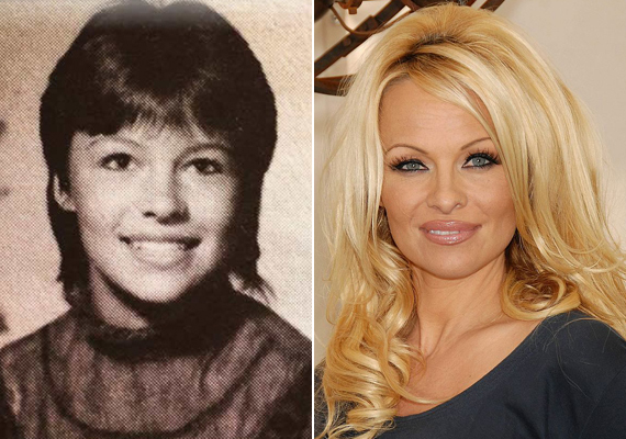 Pamela Anderson sem volt mindig szexbomba, tökéletesen átlagos fiatal nőnek számított.