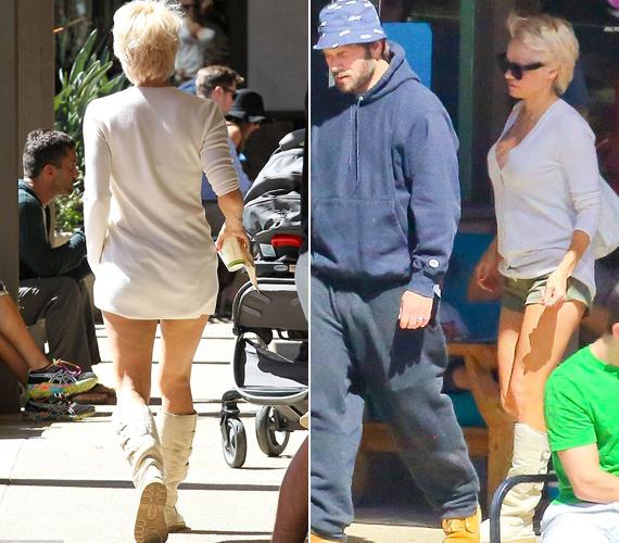 Pamela Andersonnak még mindig jó alakja van, így bátran mutogathatja lábait.