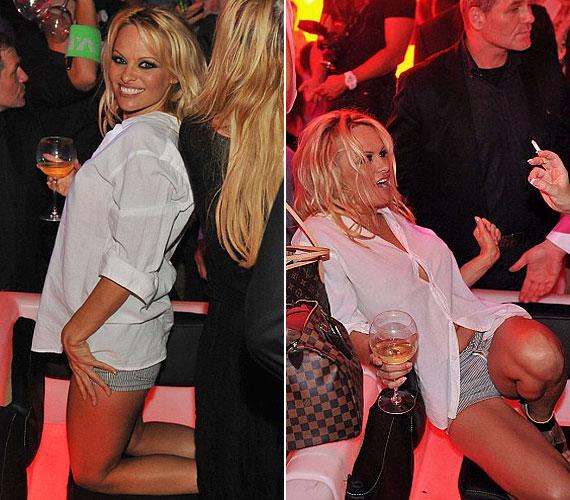 Augusztus elején szintén egy franciaországi nightclub partiján háziasszonyként működött közre.