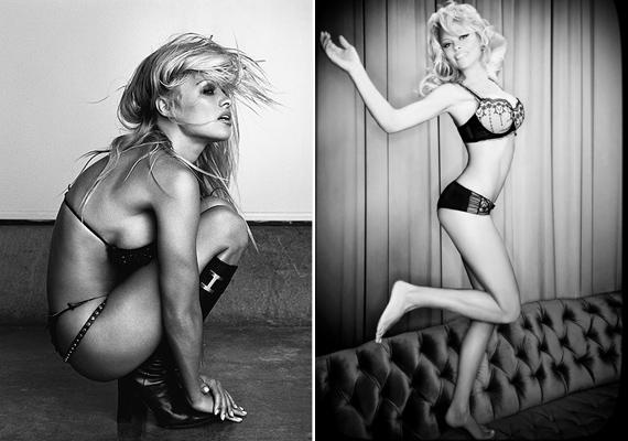 2011-ben a Vouge magazin fotósát is megihlette, aki szintén fekete-fehér képeken örökítette meg a színésznőt.