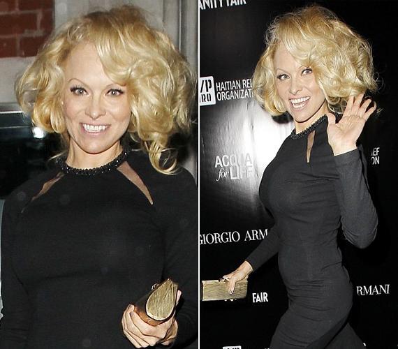 Egy étterem megnyitójára érkezett ilyen kinézettel, mint mondta, Marilyn Monroe-ra akart hasonlítani.