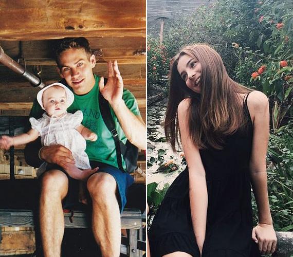 """A tragikus autóbalesetben elhunyt Paul Walker lánya, Meadow maga posztolta a babakori fotóját róla és édesapjáról az Instagramjára néhány órával ezelőtt. A 16 éves lány csak annyit írt a képhez, hogy """"Szeretlek""""."""