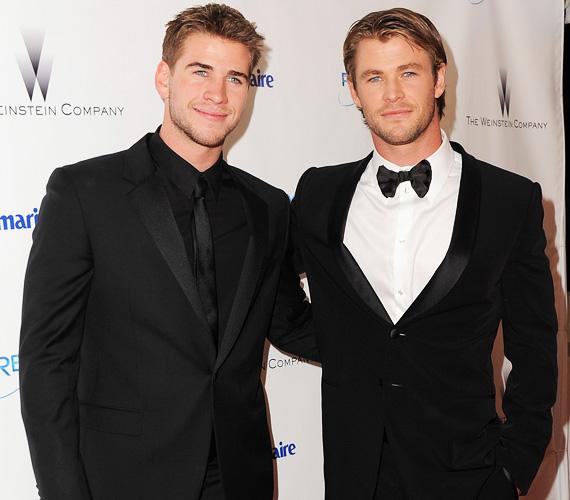 A 25 éves Liam Hemsworth és bátyja, a 31 éves Chris is nagyon sok mindenben hasonlítanak egymásra: mindketten jóképűek, tehetségesek, sikeresek, mégsem szállt a fejükbe a dicsőség. Liamet Az éhezők viadala-filmekből, Christ pedig a Thorból és a Bosszúállókból ismeri leginkább a közönség.