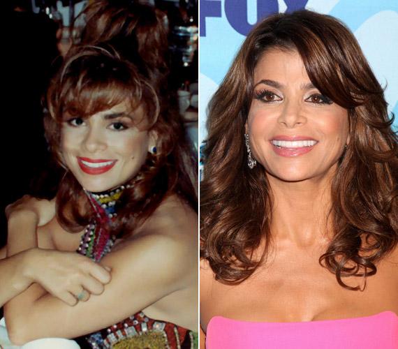 A változás szemmel látható, a mosoly viszont ugyanaz: Paula Abdul úgy nevet a kamerába, mint évtizedekkel korábban.