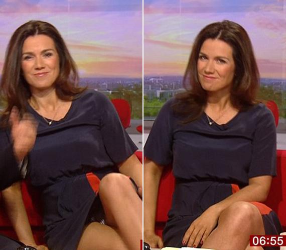 Susanna Reid a BBC reggeli adásában volt óvatlan.