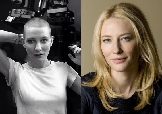 A gyilkosok is a mennyországba mennek című filmje kedvéért Cate Blanchett is megvált gyönyörű hajától 2002-ben.